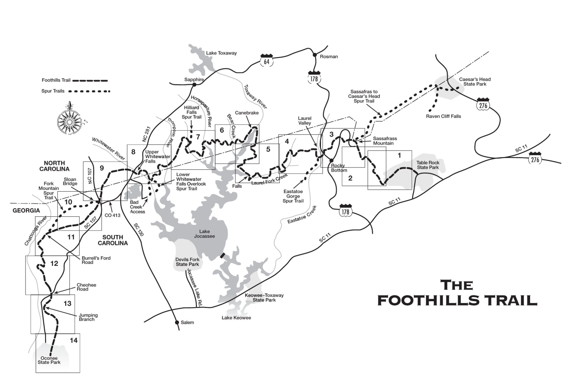 Maps coordinates foothills trail conservancy index map gumiabroncs Gallery